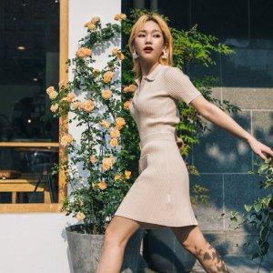 低至5折 封面同款€117收Maje官网春季大促 优雅可爱的法式小裙子 不负这春光