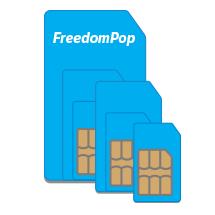 $2.99 get FREE 2GB Bonus Data ($40 value)100% FREE Talk, Text, and 4G LTE Data w/ 3-in-1 SIM Kit @ FreedomPop