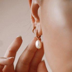 首单9折 £25起收Lily & Roo 精致小众首饰品牌 珍珠系列、硬币项链风正大