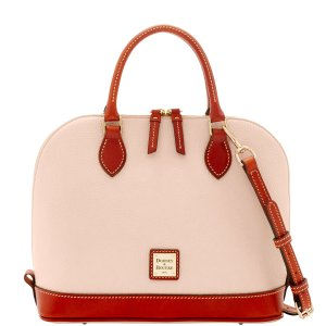 Dooney&BourkePebble Grain Zip Zip Satchel