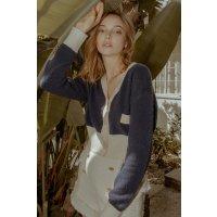J.ING Piper Navy Blue 毛衣开衫