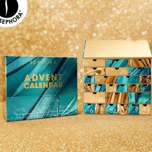 变相3.7折+送豪华11件套+免运费惊喜上新:Sephora 2020圣诞日历礼盒 总价值€295仅售€119