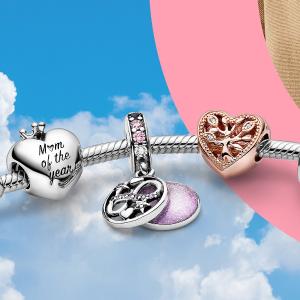$10起收+会员限时免邮Pandora官网大促 会员早鸟通道开放 收串珠、手链、戒指