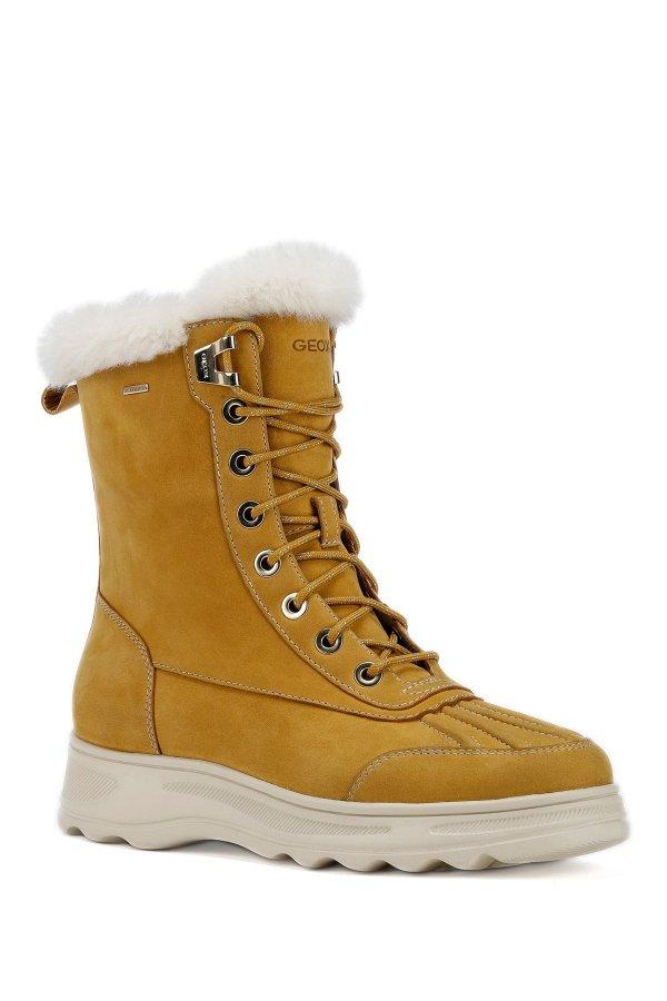 Hosmos Faux Fur Trim 短靴