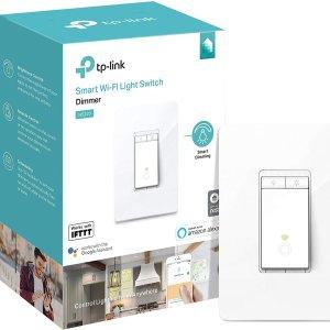 $39.98 (原价$49.98)史低价:TP-Link Kasa HS220 WiFi 智能调光开关 支持语音控制