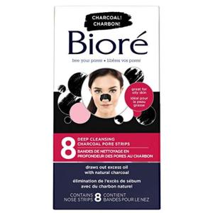 $5.68(原价$7.97)Biore 碧柔毛孔清洁鼻贴8片  告别草莓鼻
