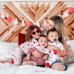 $13.95起新品上市:Burt's Bees Baby 情人节系列儿童有机棉睡衣开售