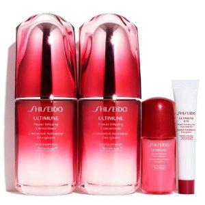 $170.00 (价值$246) + 送价值$175好礼即将截止:Nordstrom Shiseido 红妍肌活精华露套装热卖