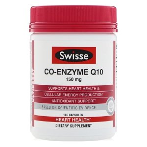 Swisse Co-Enzyme Q10, 150 mg , 180 Capsules