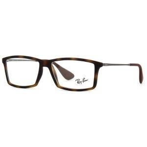 Ray-Ban RB7021 5365 Rx LightRay Rectangle Optical Eyeglasses