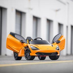 說是買給孩子 實際上爸爸想要熱淚盈眶 終于有一臺McLaren 邁凱倫跑車 買得起了