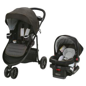 $349.97(原价$599.99)史低价:Graco葛莱 Modes 3 Lite 旅行组合套装 轻型儿童推车+婴儿汽车安全提篮