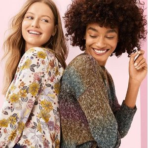 50% Off + Members Extra 15% OffLOFT Outlet Women's Clothing on Sale