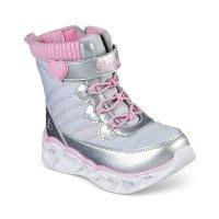 Skechers 女幼童雪靴