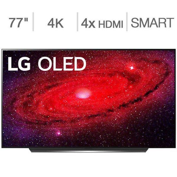 """OLED 77"""" CX系列 4K超高清智能电视 + $100 Allstate保修"""