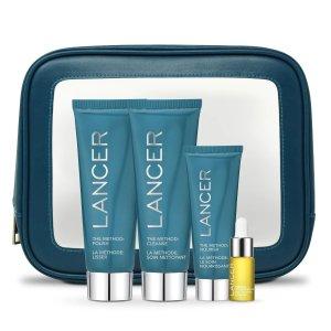 Lancer价值 $129普通皮肤护肤套装