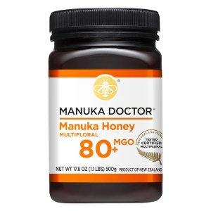 Manuka Doctor要使用折扣码SEPTQUICK80 MGO 麦卢卡蜂蜜 1.1lb