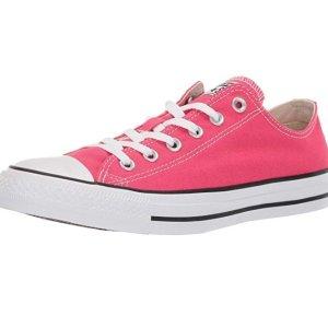 $40(原价$55)+包邮Converse Chuck Taylor 夏日低帮帆布鞋 草莓粉色