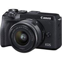 Canon EOS M6 Mark II + 15-45mm 镜头 + EVF-DC2 取景器