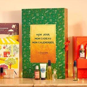 €89收+送圣诞套组 私人订制款L'OCCITANE 欧舒丹 新玩法 DIY自选圣诞日历