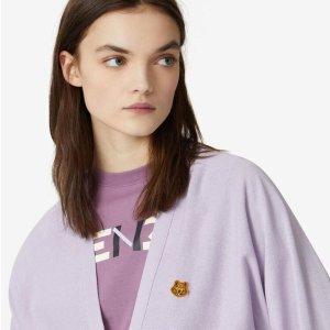 低至5折KENZO 夏季服饰、配饰大促 收小虎头开衫