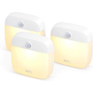 $11.89eufy LED小夜燈,夜間傳感燈三個