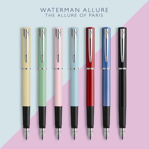 礼盒装仅€14.99 原价€28新品上市:Waterman 威迪文 雅律系列钢笔 自用送人都好