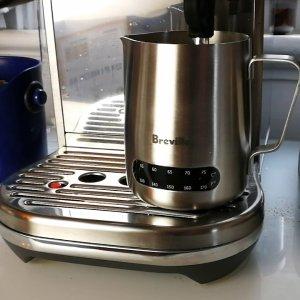 $23.98(原价$29.99)Breville BES003 拉花杯 带温度显示 宅家咖灰玩个拉花