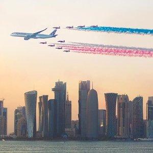 无门槛立减$50卡塔尔航空 7月4美国独立日特惠