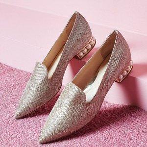 低至4折 逆天价£183收Coliac珍珠鞋折扣升级:The Modist 大牌美包美鞋美衣热卖