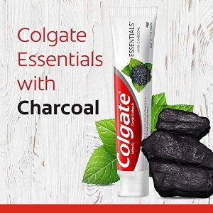 $7.48 包邮Colgate 天然活性炭美白牙膏 薄荷味 4.6oz 2支