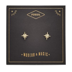 Fossil20% off 2 items, or 30% off 3 itemsNorth Star Gold-Tone Stainless Steel Earrings
