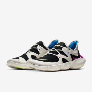 $170 多色可选,上脚舒适Nike Free RN 赤足5.0缓震轻便跑步鞋
