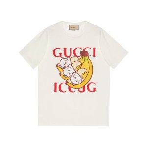 Guccix Bananya printed T-shirt