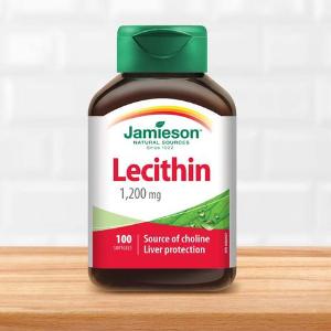 $5.21(原价$9.97)Jamieson 健美生卵磷脂 1200 mg 100粒 血管清道夫