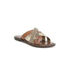 Sam EdelmanGlennia Leather Slides