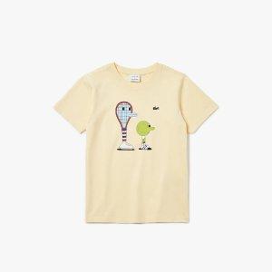 Lacoste x Jeremyville 儿童款T恤