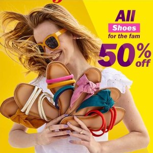 50% OffToday Only: Shoes Sale @Old Navy