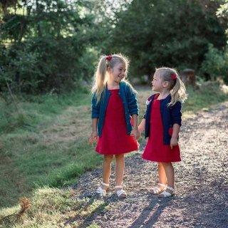 6折Hanna Andersson 女童连衣裙 有秋冬款针织裙