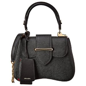 PradaSidonie Saffiano Leather Satchel