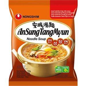 姜虎东也超爱的安城汤面!€1.2/袋安城汤面
