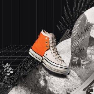 低至5折 封面款£112入Converse 帆布鞋促销 姜涩琪同款、小花联名、王逢陈限定热卖