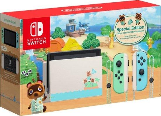 动森限定版Switch 游戏主机