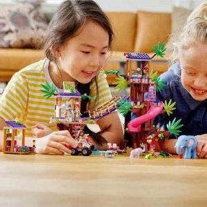 史低价:LEGO 好朋友系列 丛林营救基地营 41424
