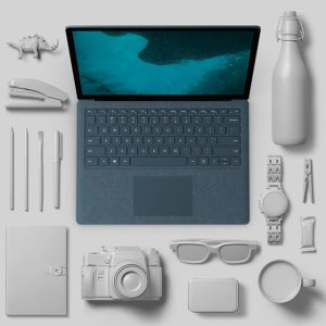 $1443(原价$1999)速度高效Microsoft Surface Laptop 2 8GB 256GB 笔记本电脑限时热销