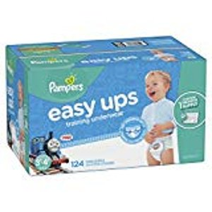 立减$5+包邮Pampers 帮宝适 Easy Ups 儿童训练裤、尿不湿、湿巾特卖