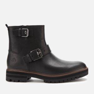 现价¥851.4+直邮中国Timberland 女款平底搭扣短靴 2色可选 6折码全