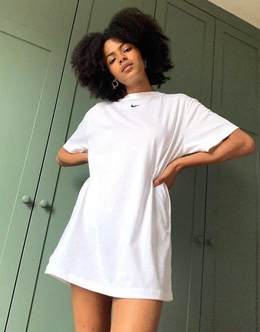 mini swoosh oversizedT恤裙