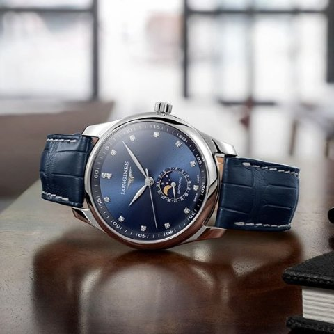 Extra $50 OffDealmoon Exclusive: LONGINES Master Automatic Blue Dial watches