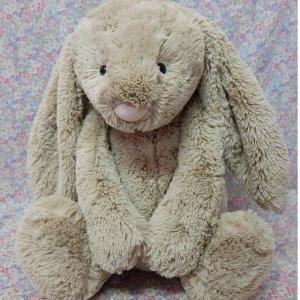 低至8折Jellycat 软萌网红小兔子 床上的毛绒玩具只少不多